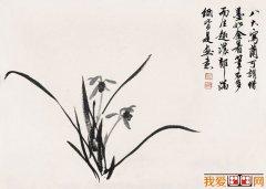 黄胄作品集:黄胄的16P写意花鸟画作品欣赏