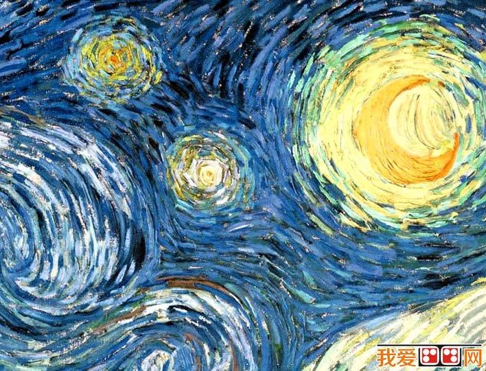梵高 星空 梵高最著名油画风景作品高清图文赏析 3