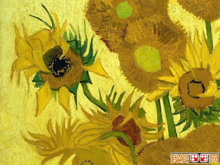 梵高 十五朵向日葵 凡高两幅知名向日葵油画作品图文赏析 3