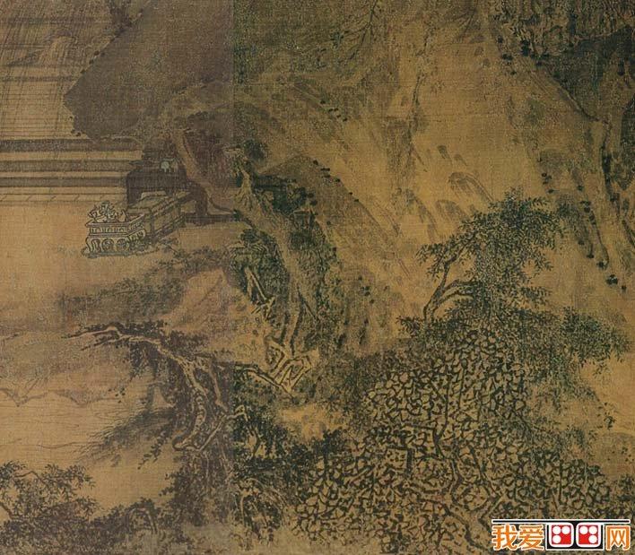 马远人物风景画《西园雅集图》局部高清大图06