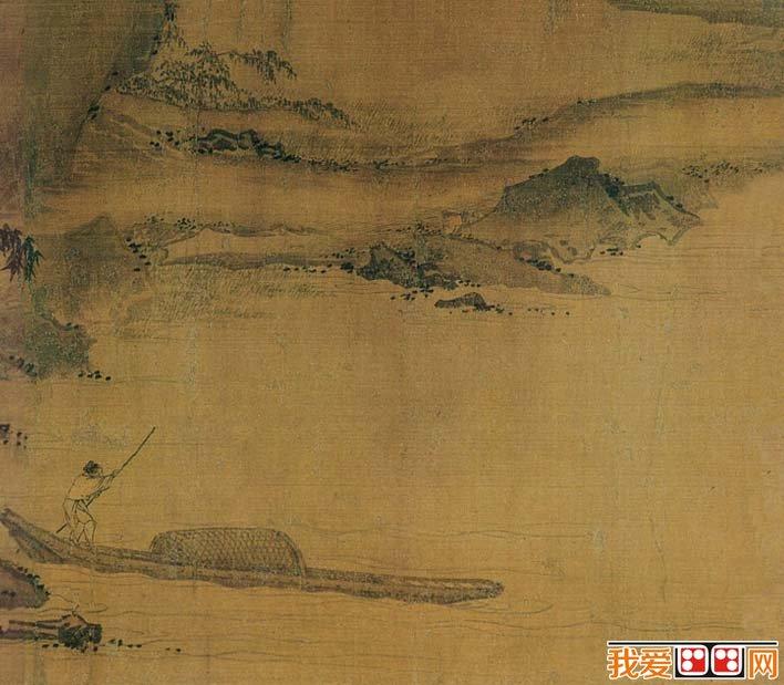马远人物风景画《西园雅集图》局部高清大图08