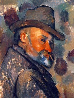 """高更,凡高并成为""""后印象派三杰"""",而尤以塞尚对后来西方艺术发展影响"""