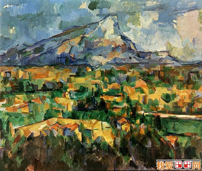 塞尚_现代绘画之父,后印象派和立体主义画派代表画家图片