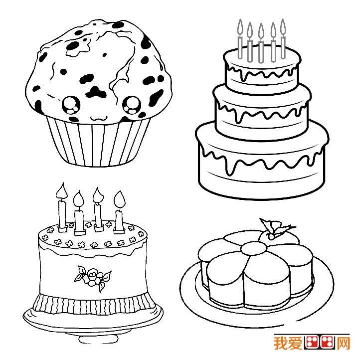 生日蛋糕简笔画图片大全为大家提供各种各样的生日蛋糕简笔画,包括鲜奶蛋糕简笔画图片,慕斯蛋糕简笔画图片,奶酪蛋糕简笔画图片,巧克力蛋糕简笔画图片,冰淇淋蛋糕简笔画图片等。蛋糕最早起源于西方,后来才慢慢的传入中国,目前在中国已经将蛋糕作为过生日的必需品了。
