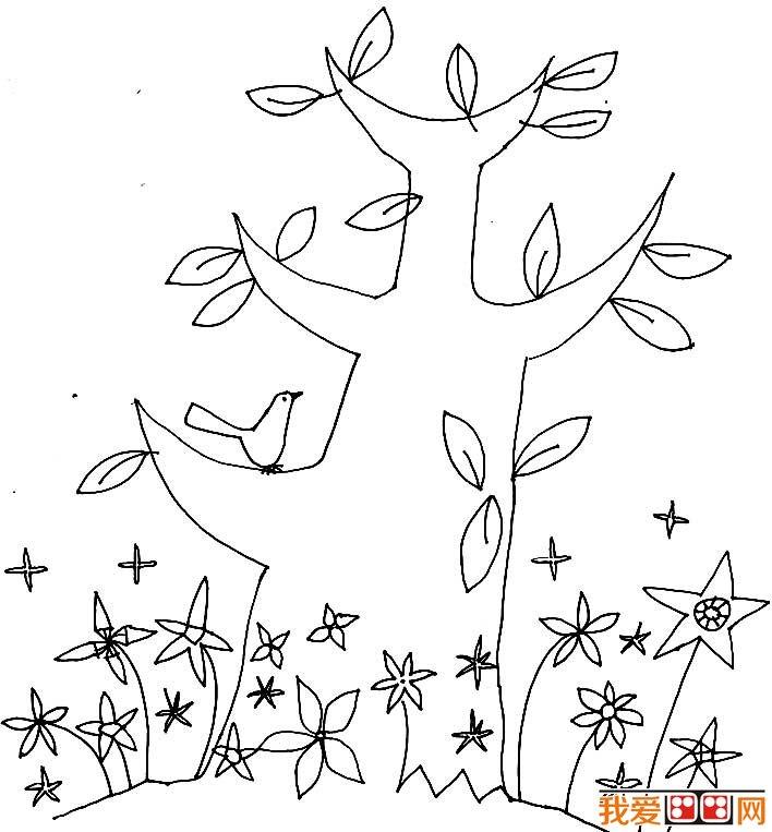 大树是我们生活在随处可见的简笔画绘画题材,更是我们地球上必不可少的的环境保护神。我爱画画网这次给小朋友们带来的是关于树的一组简笔画,这组大树简笔画图片用简练的线条,生动的描绘了各种各样的大树的基本形状和结构,在接下来,我爱画画网还会继续给大家带来树木类的简笔画图片,期待吧!