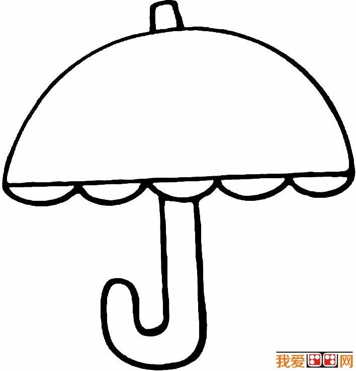 雨伞的图片 雨伞简笔画图片大全