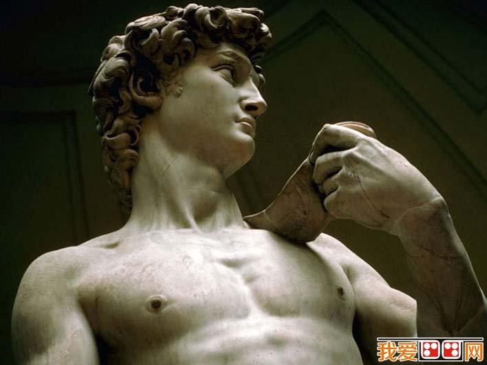 米开朗基罗《大卫》_西方美术史上最优秀的男性人体雕像