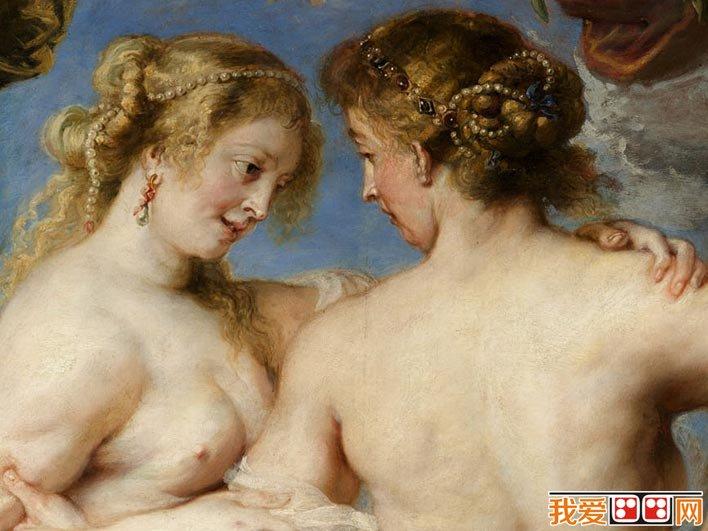鲁本斯《三美神》_鲁本斯晚年神话题材人体艺术油画作品赏析(2)
