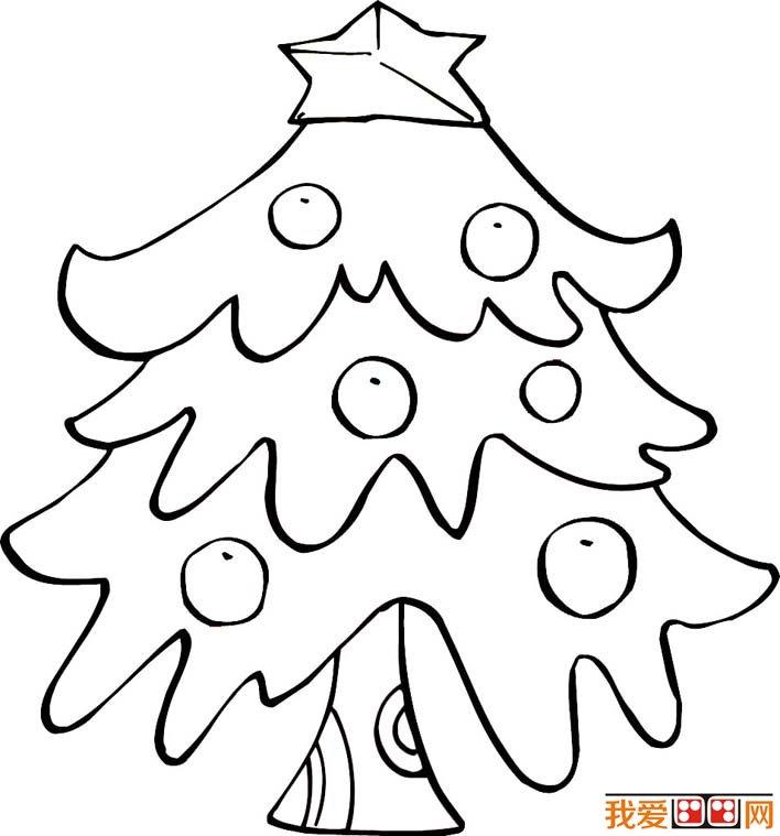 各种各样的简笔画圣诞树   圣诞树 简笔画图片是我爱 画画网给广大小