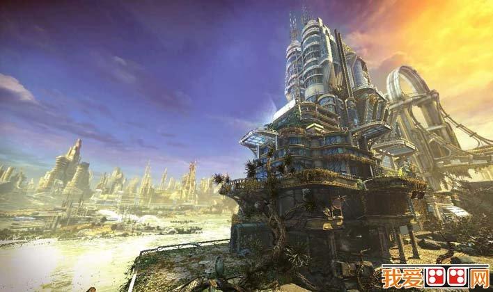 科学幻想未来城市科幻图片高清大图      在西方科幻电影大片中和游戏