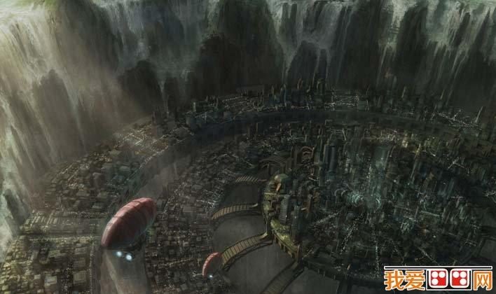 未来城市科幻画,科学幻想未来城市科幻图片高清大图 2图片