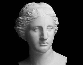 维纳斯石膏像,维纳斯素描头像,维纳斯石膏素描图片