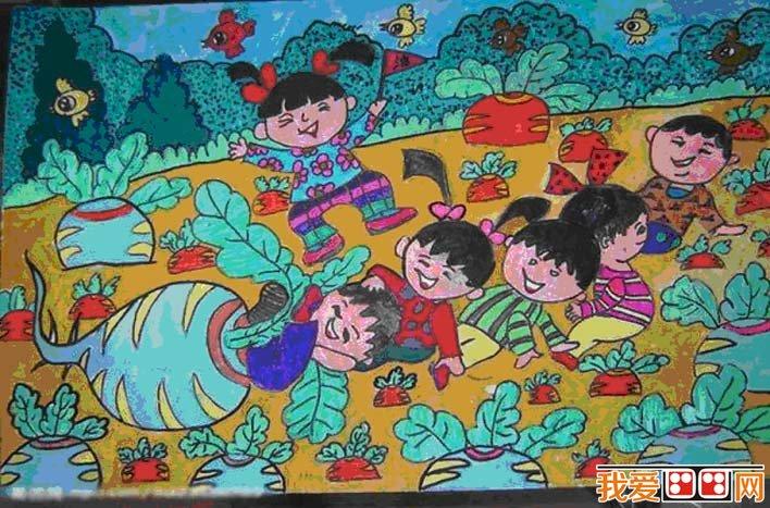 选优秀儿童画作品3