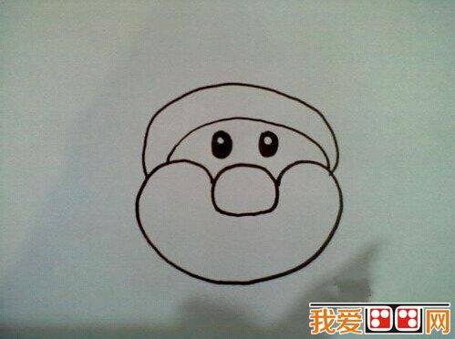 简笔画教程 如何画圣诞老人