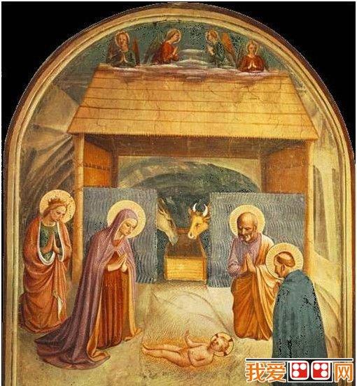 平安夜这晚 画家笔下的耶稣诞生了