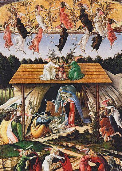13世纪意大利诗人但丁对这位天神降临人间一般的母亲唱出美妙的赞歌