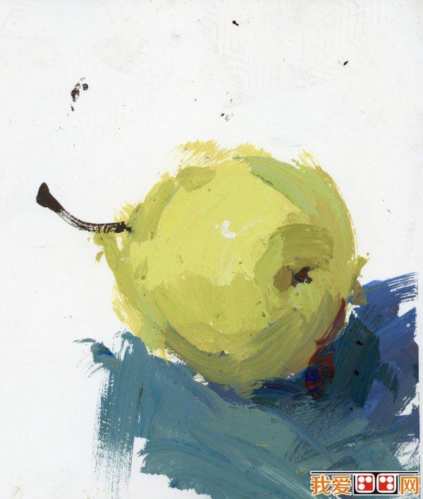 水粉画欣赏 蔬菜和水果静物作品 19P