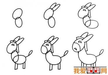 动物简笔画:各种小动物简笔画教