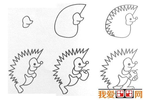 动物简笔画:各种小动物简笔画教程大全(4)