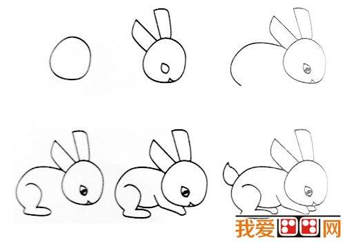 动物简笔画 各种小动物简笔画教程大全 9