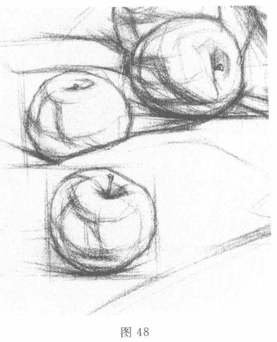 描的原则与素描步骤图片