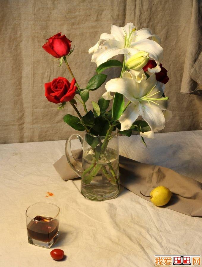 素描教程 花卉静物素描步骤与详细教程图片