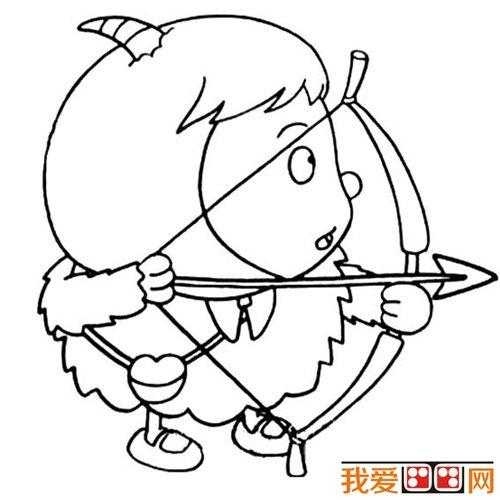 教你画羊 绵羊简笔画教程 8