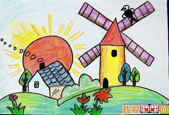 孩子学画画有什么好处     要让孩子通过画画多看,多听,多接触大自然