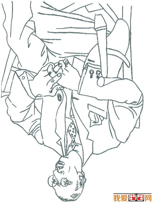 幼儿人脸手绘图案
