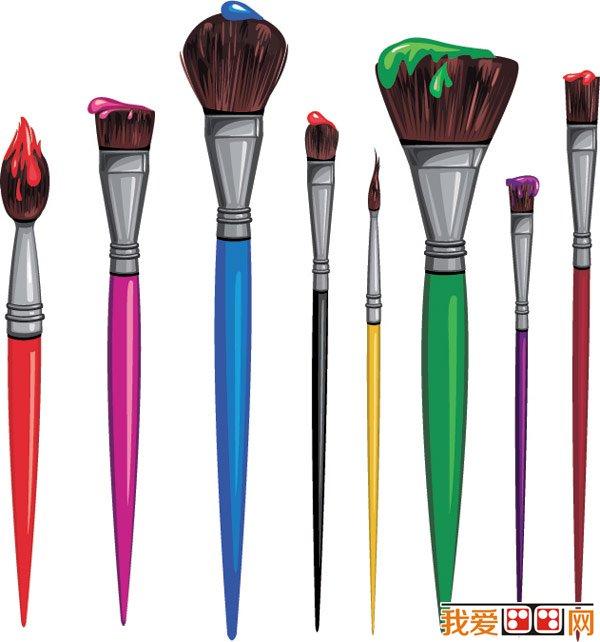 油画颜料的使用步骤图