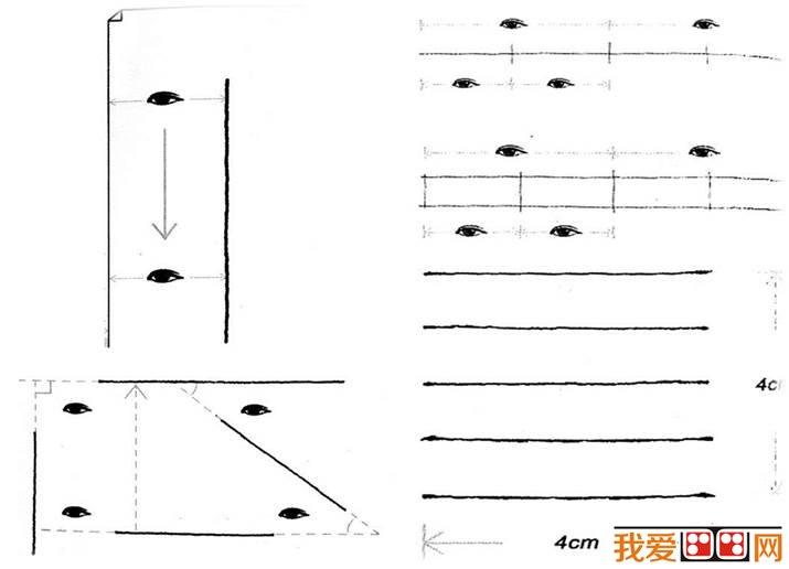 手绘教程:线的画法和组合