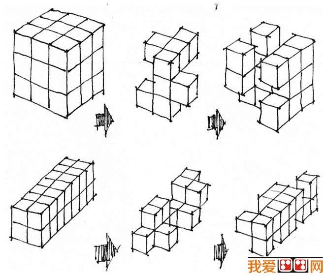 空间构成:立体形象思维与表现