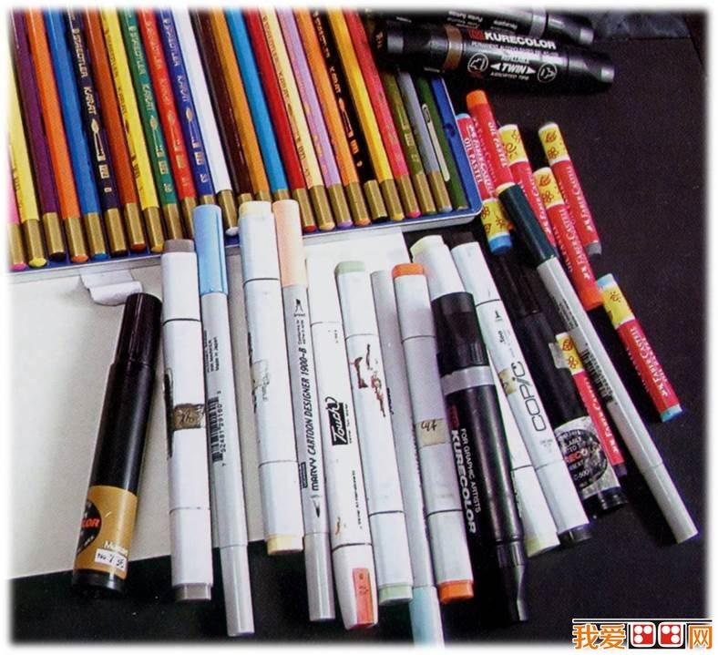 马克笔手绘灯具图片内容马克笔手绘灯具图片版面