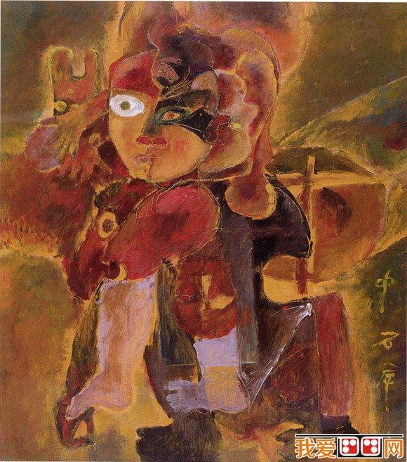 """从20世纪90年代开始,石虎在海外画坛取得巨大。1942年出生于河北太行山下的一个偏僻乡村,1958年进入北京美术学校,1960年入浙江美术学院,毕业以后,他开始了一连串""""体验生活""""的艰苦历程。在这期间,他还当了6年的士兵。 这位被美国人称为""""画家中的画家""""、""""中国的毕加索""""的大画家,在1978年曾被安排远赴非洲13国写生访问,之后他的旅游画作结集成书,开始为人所注意,迟至1982年,画家才在南京博物院举行第一次个展,成为轰动一时的"""