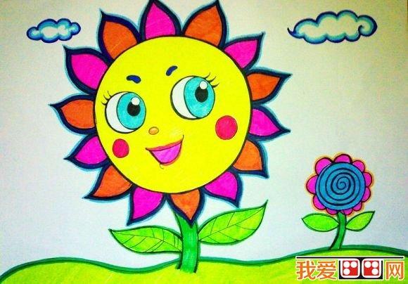 幼儿学画画作品