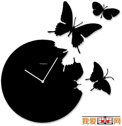 黑白装饰画蝴蝶-什么是黑白画