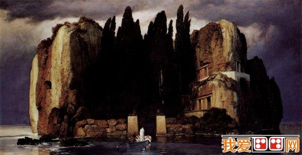 百科 世界名画 风景油画 > 阿诺德·勃克林和《死之岛》画作赏析