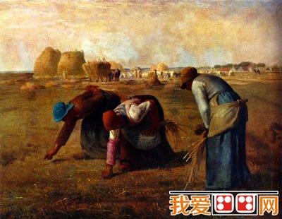 田园风景油画作品