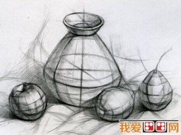 素描绘画应该如何表现空间关系图片