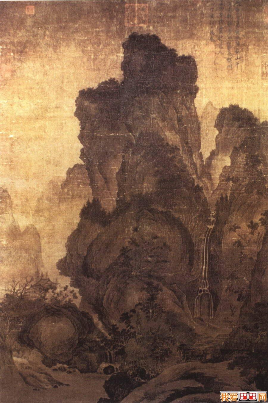 古代山水画大师:关仝图片