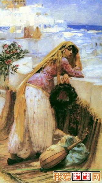 百科 世界名画 风景油画 > 美国画家布里奇曼和他代表油画