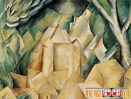 立体主义画派的人物画代表作品赏析_世界名画_百科_我