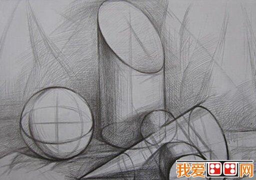 素描绘画中群体形象的结构组织