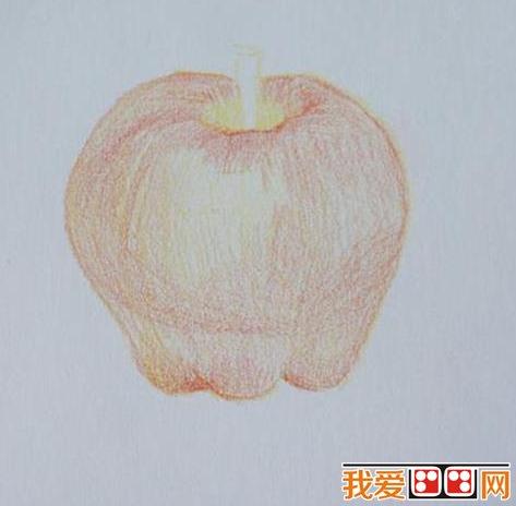 教程:彩铅画苹果      彩色铅笔是 儿童画常用的工具之一,夏天到了