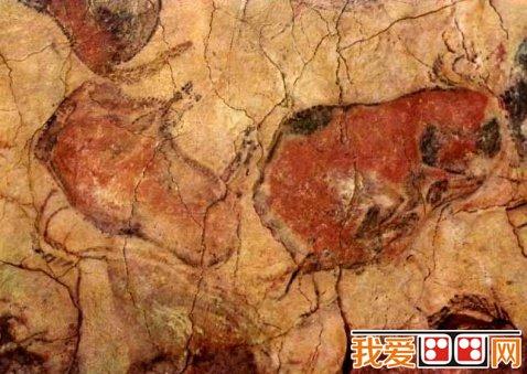 美术知识:原始时代的美术表现形式图片