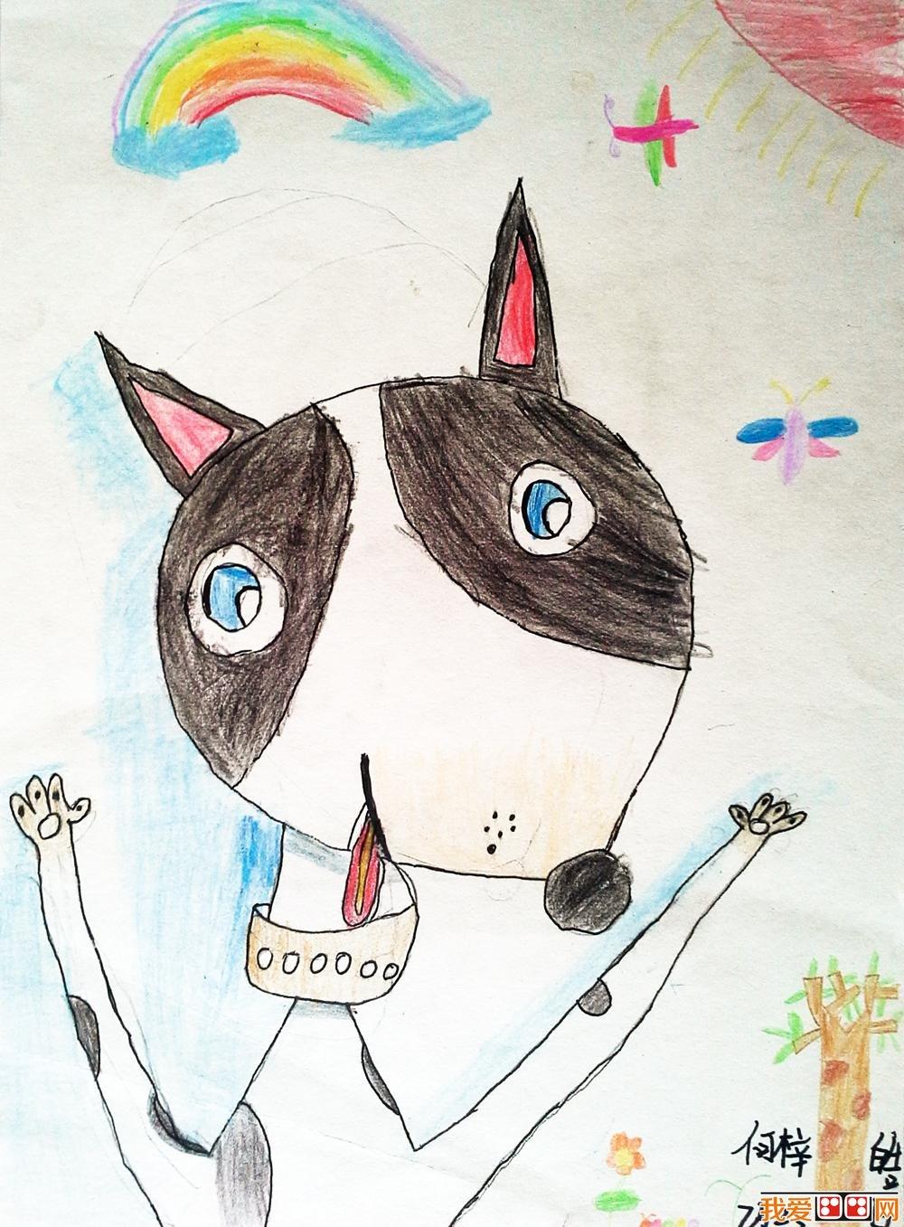 幼儿学画画:小狗儿童画大全
