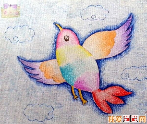 彩铅手绘图爱情