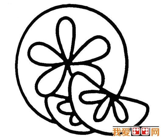 儿童学画画:橘子简笔画教程