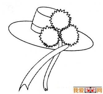 简笔画狐狸大全:可爱的小狐狸简笔画图片13张(13)