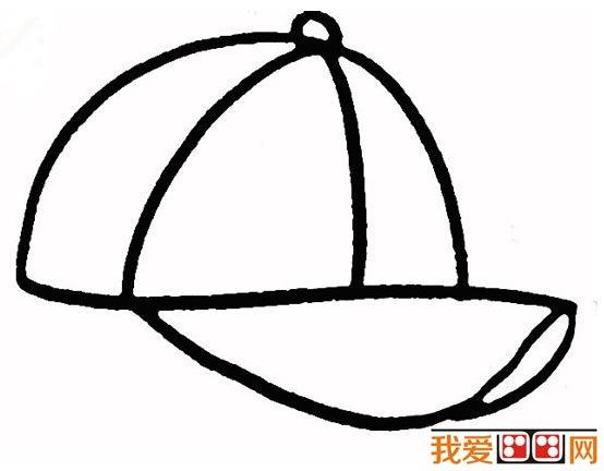 童画教程:帽子简笔画怎么画-儿童画教程学画画 帽子简笔画教程